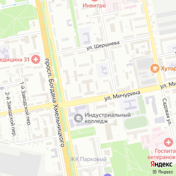 Канцовары от Качанова на Яндекс.Картах