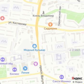 Угол на Яндекс.Картах
