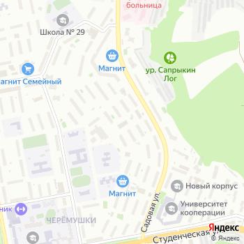 Модэмис на Яндекс.Картах