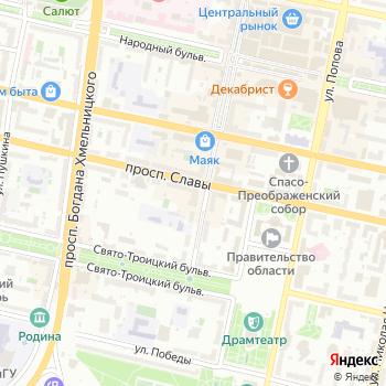 Оверо на Яндекс.Картах
