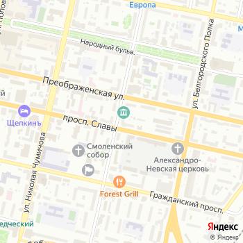 ЖБК-1 на Яндекс.Картах