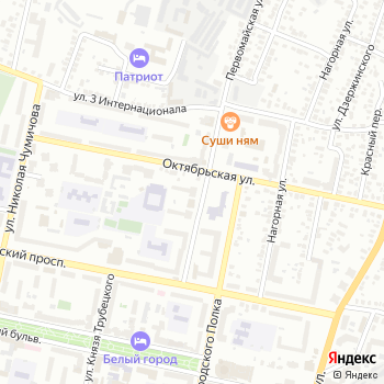 Почта с индексом 308001 на Яндекс.Картах