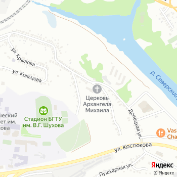 Центр детско-юношеского туризма и экскурсий г. Белгорода на Яндекс.Картах