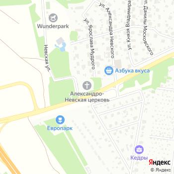 Храм святого благоверного князя Александра Невского на Яндекс.Картах