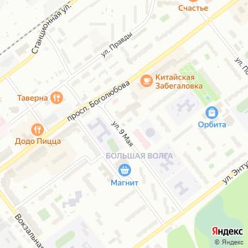 Почта с индексом 141981 на Яндекс.Картах