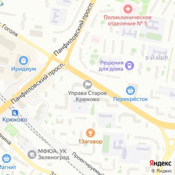 Управление социальной защиты населения Панфиловского района на Яндекс.Картах