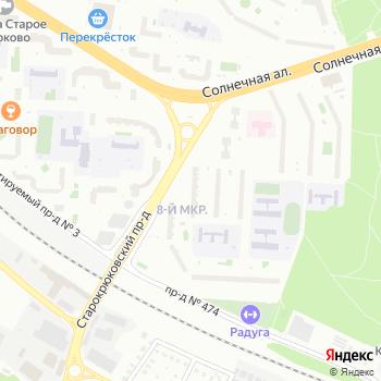 Почта с индексом 124527 на Яндекс.Картах