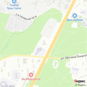 Фрактал на Яндекс.Картах