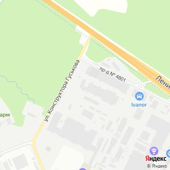 Рус-моторс на Яндекс.Картах