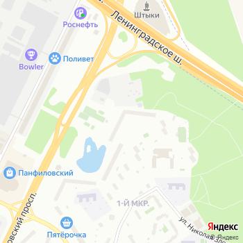 ОДС на Яндекс.Картах