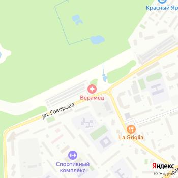 Восточная на Яндекс.Картах