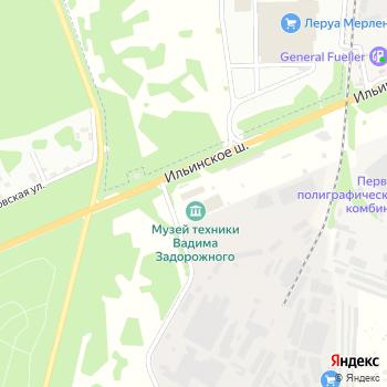 Траско на Яндекс.Картах