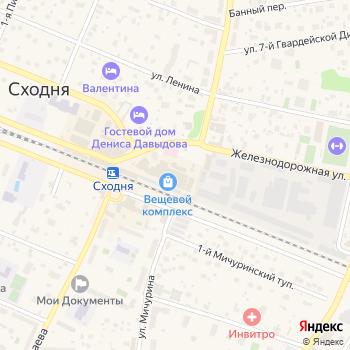 Чистый сон на Яндекс.Картах