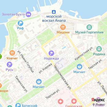 Осьминожек на Яндекс.Картах