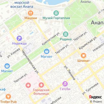 Территориальный Фонд обязательного медицинского страхования Краснодарского края на Яндекс.Картах