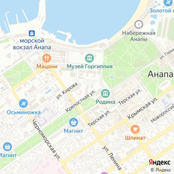 Служба заказа пассажирского транспорта на Крепостной на Яндекс.Картах