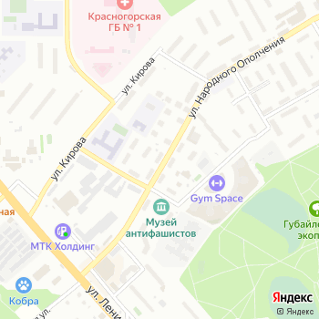Мастерская по ремонту одежды на ул. Народного Ополчения на Яндекс.Картах