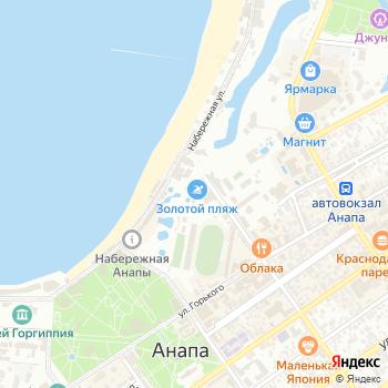 Золотой пляж на Яндекс.Картах