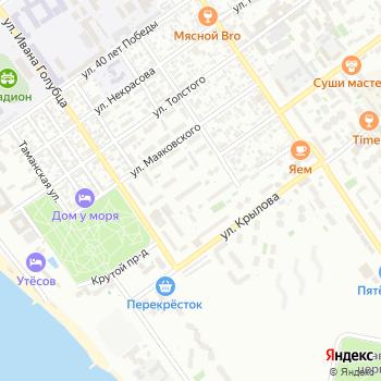 Почта с индексом 353454 на Яндекс.Картах