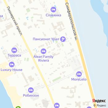 Урал на Яндекс.Картах