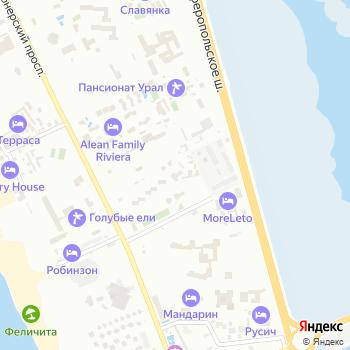 Буревестник на Яндекс.Картах