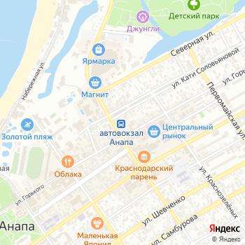 Автовокзал на Яндекс.Картах