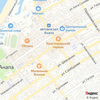 Пятка на Яндекс.Картах