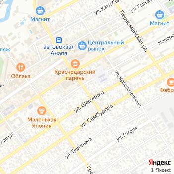Арбалет на Яндекс.Картах