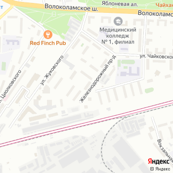 Почта с индексом 143402 на Яндекс.Картах