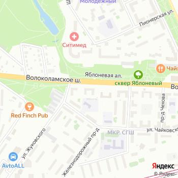 Спорт на Яндекс.Картах