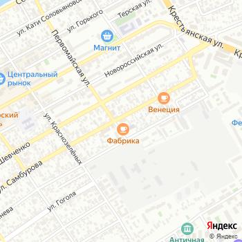 Сатурн на Яндекс.Картах