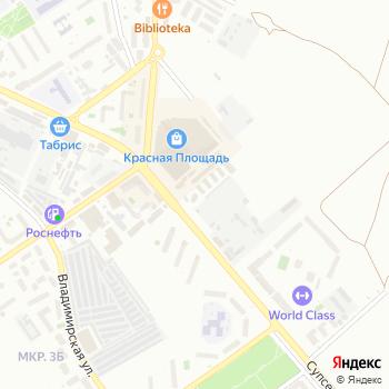Колоннада на Яндекс.Картах