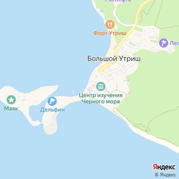 Анапский дельфинарий на Большом Утрише на Яндекс.Картах
