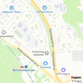 Моркнига на Яндекс.Картах