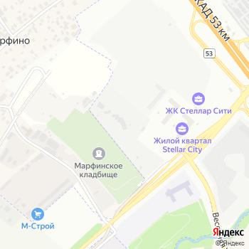 Сколково на Яндекс.Картах