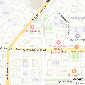 Отдел Военного комиссариата г. Москвы на Яндекс.Картах