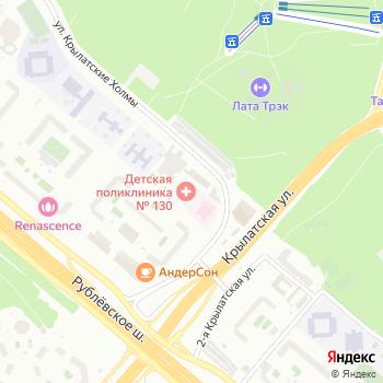 Детская городская поликлиника №130 на Яндекс.Картах