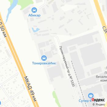Ярус на Яндекс.Картах