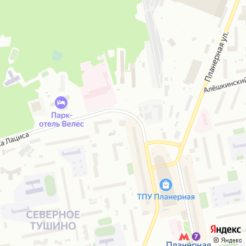 Вилиса Лациса-1 на Яндекс.Картах