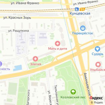 Регата на Яндекс.Картах