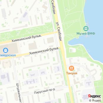 Почта с индексом 125364 на Яндекс.Картах
