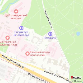Музпром-МО на Яндекс.Картах