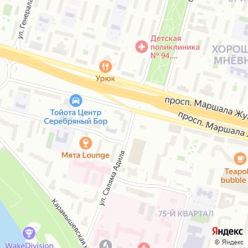 Хорошево-Мневники на Яндекс.Картах
