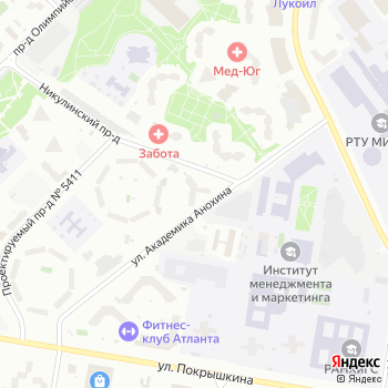Генеральная дирекция Западного административного округа на Яндекс.Картах