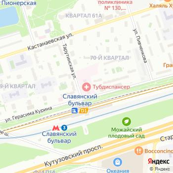 Противотуберкулезный диспансер №14 на Яндекс.Картах