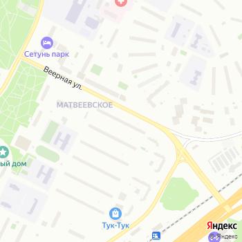 Почта с индексом 119501 на Яндекс.Картах