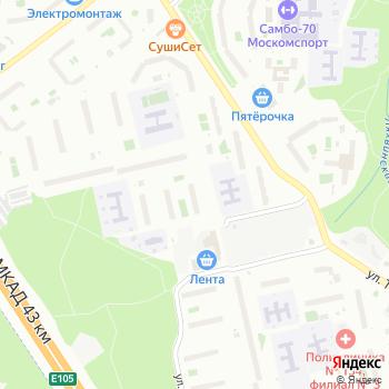Трудовик на Яндекс.Картах