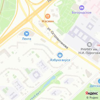 Гаражно-строительный кооператив-3 на Яндекс.Картах