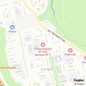 Городская поликлиника №134 на Яндекс.Картах