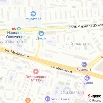 Вера на Яндекс.Картах
